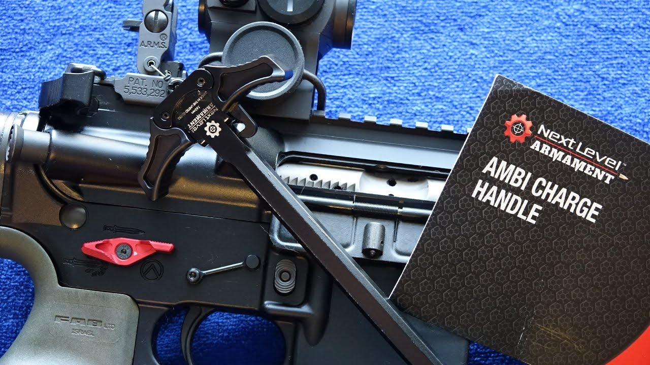 Next Level Armament NLX 556 308 Ambi Charging Handle Review