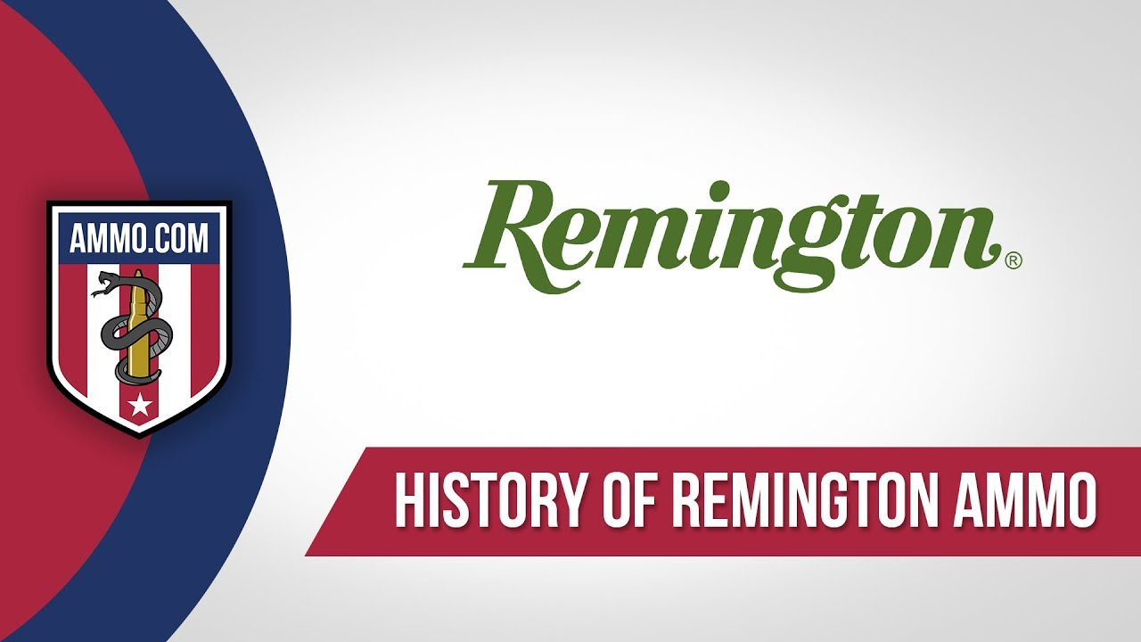 Remington Ammo - History