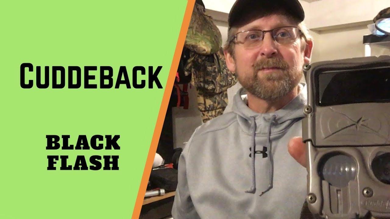 Cuddeback Black Flash On Easy Mode