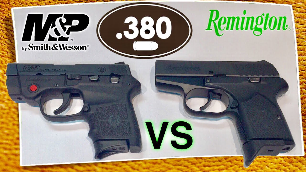 Remington RM380 vs Smith & Wesson Bodyguard