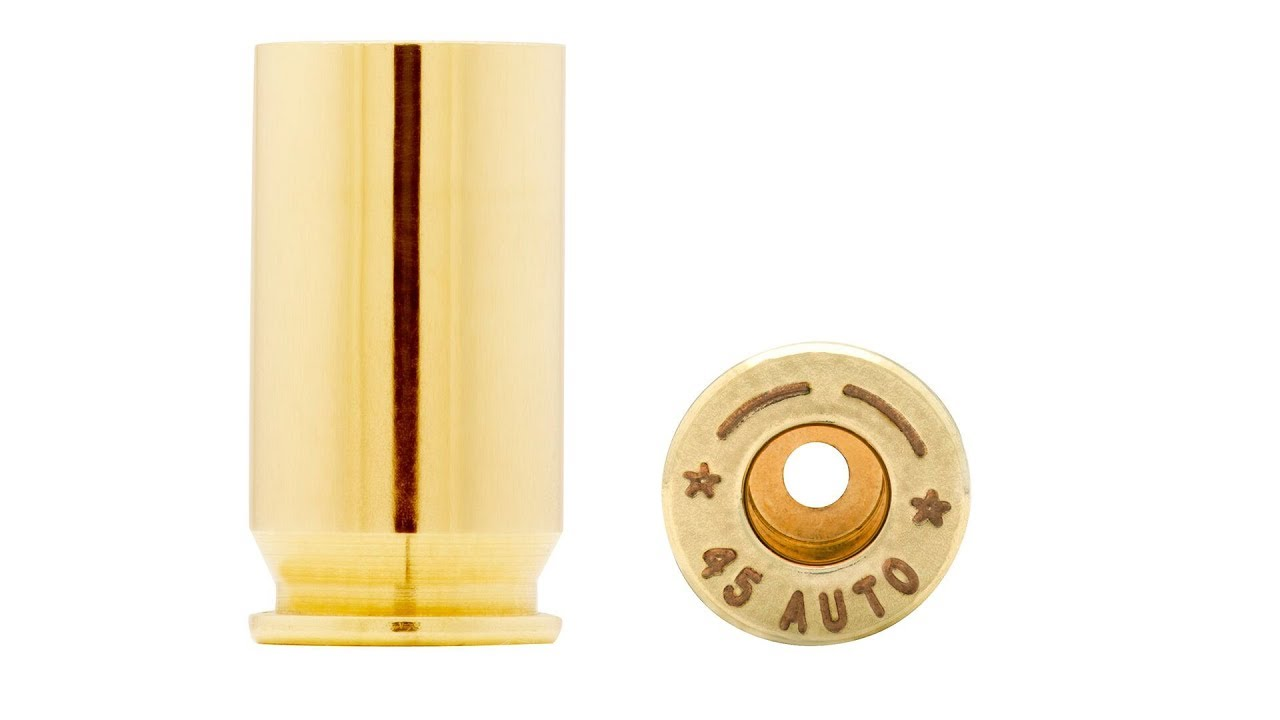Selecting the Correct Brass Cases for Reloading
