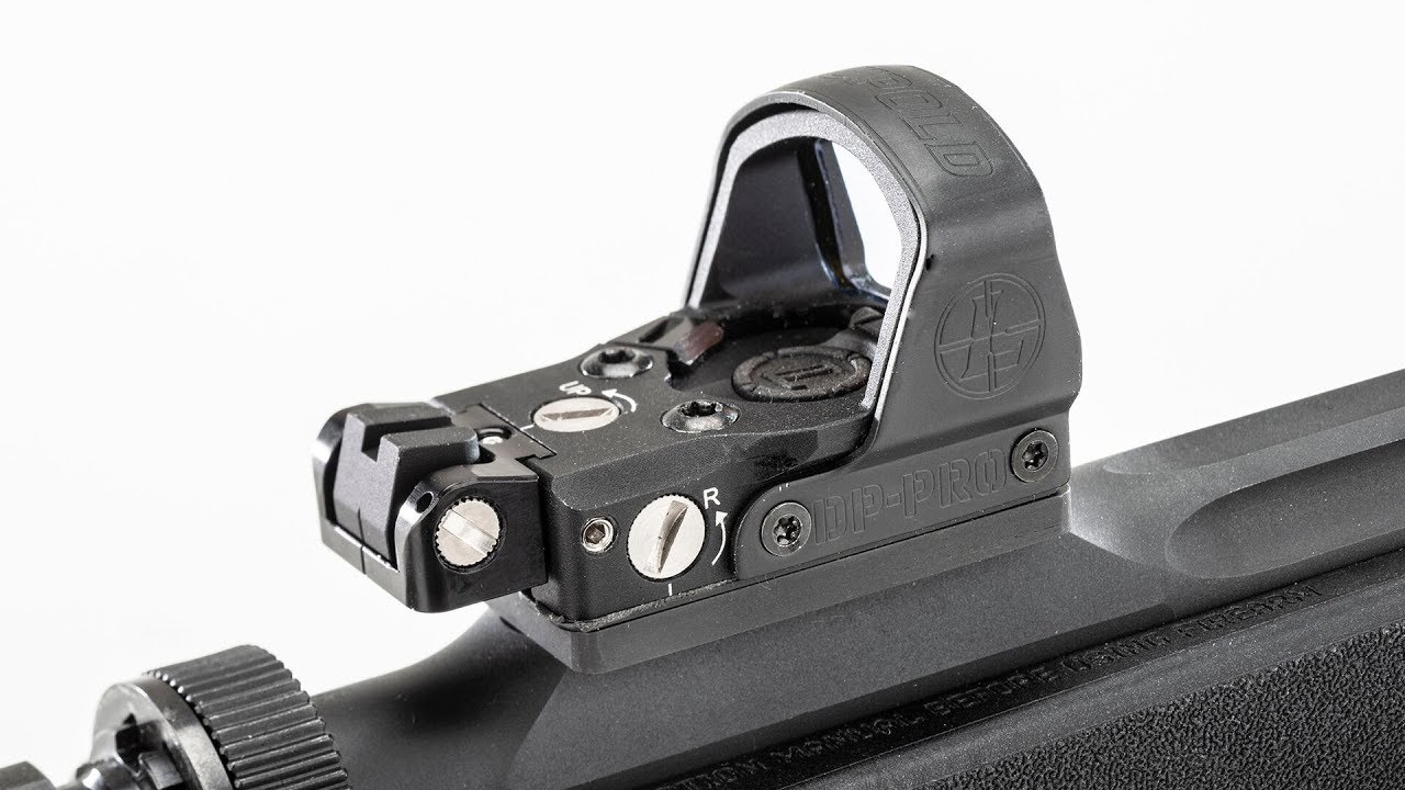 How-To Install the Iron Sight Accessory on the Leupold DeltaPoint Pro