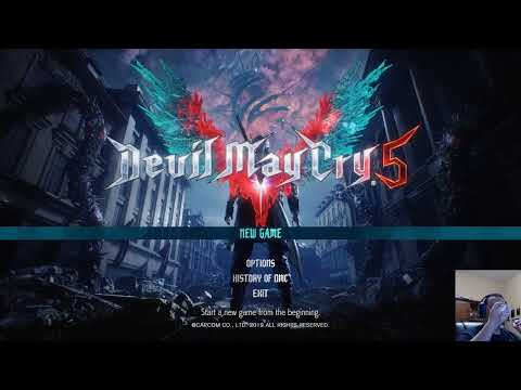 Trying Out Devil May Cry