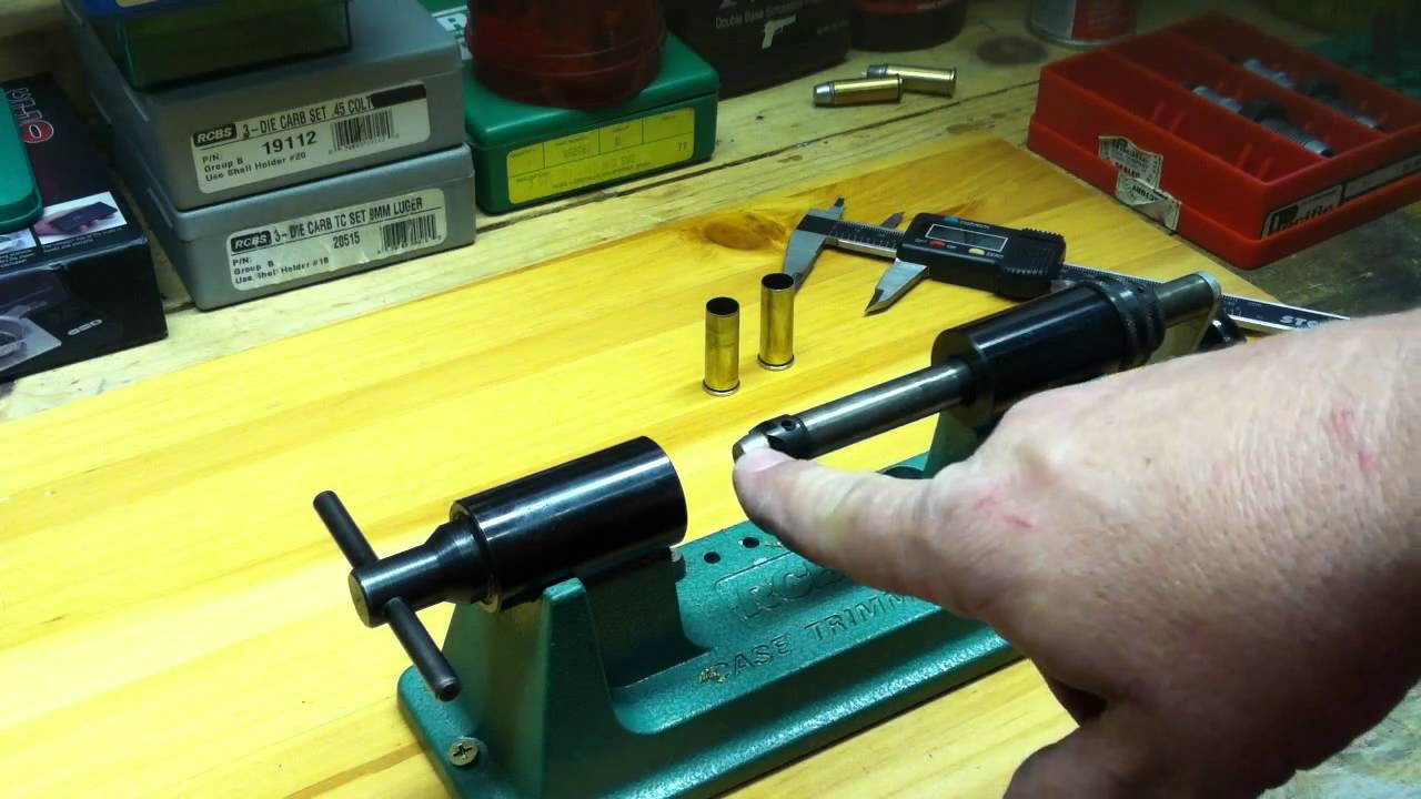 Setting Up Reloading Dies and Reloading .44 Magnum