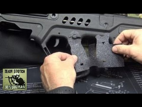 Talon Grips for the IWI Tavor  Sweet!