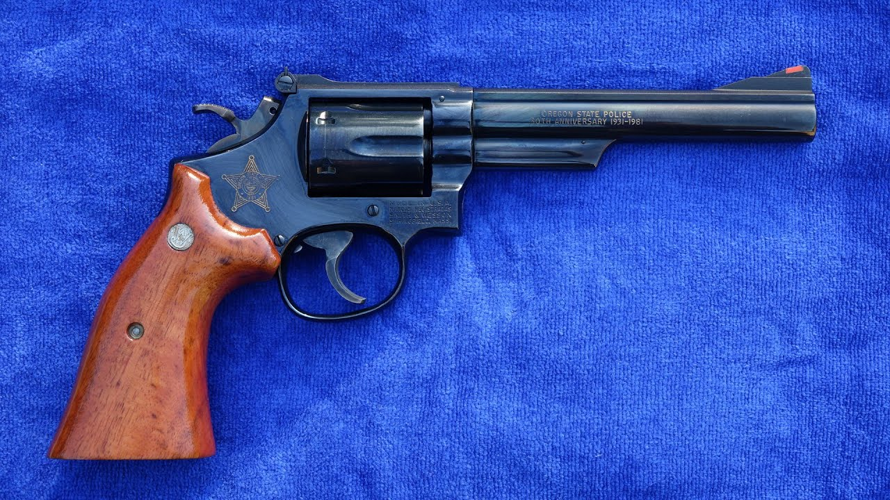 Smith & Wesson Model 19-4 Oregon State Police 50th Anniversary First Look