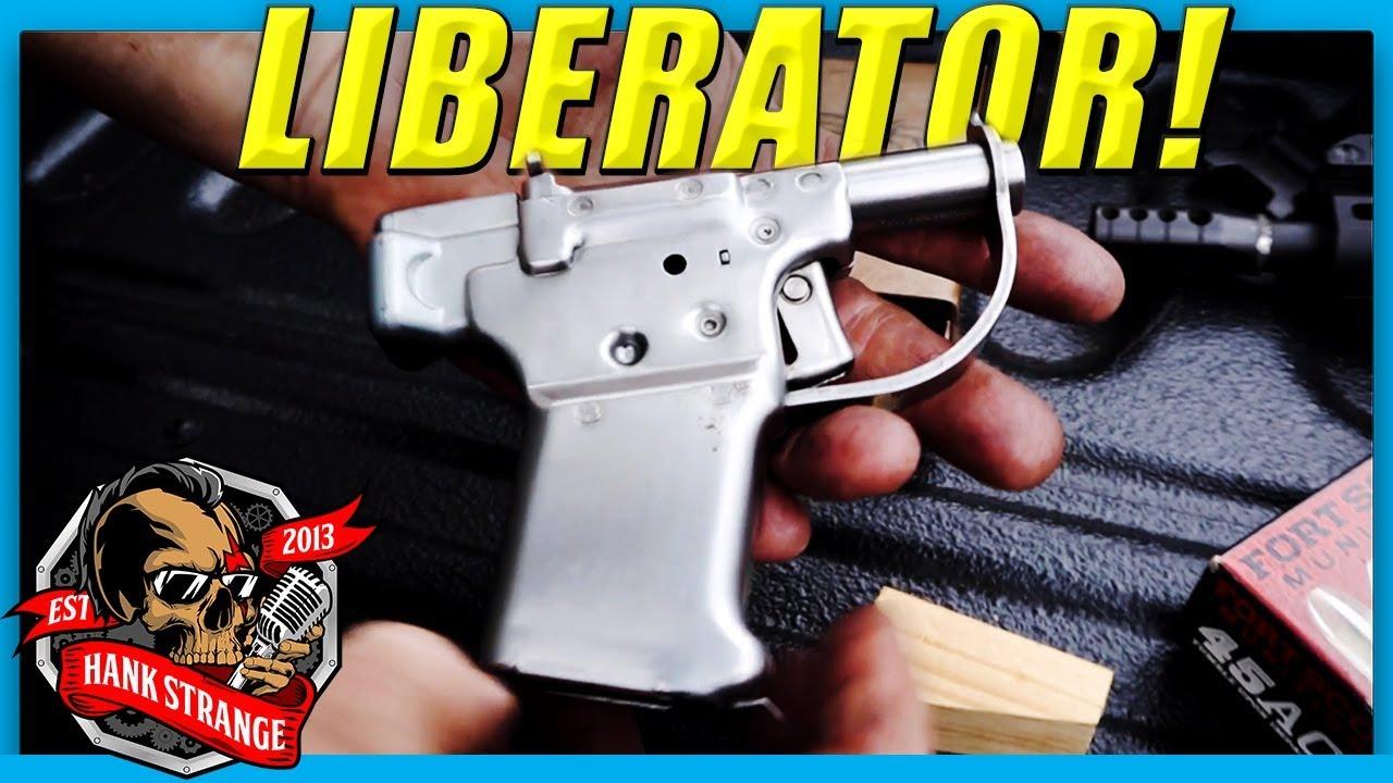 FP-45 Liberator Single Shot Pistol // WWII Resistance Pistol