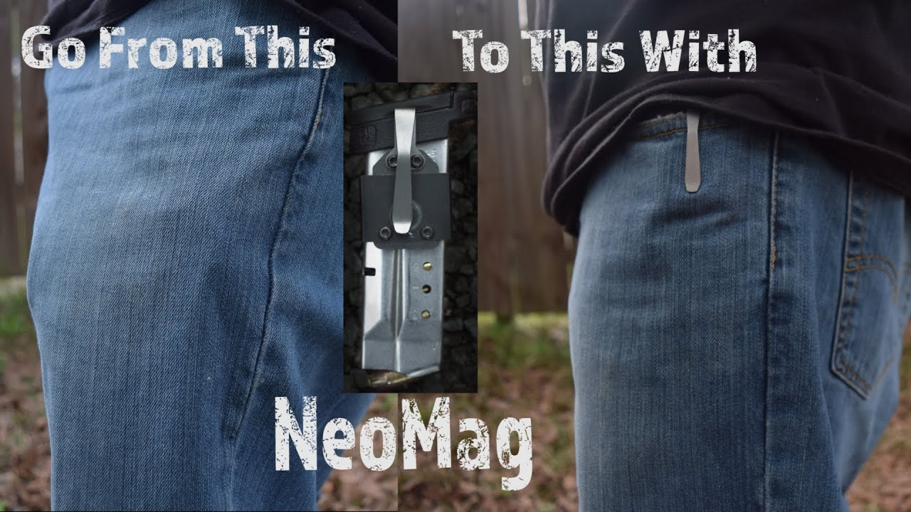 Carry Your Spare Magazine Comfortably With NeoMag!
