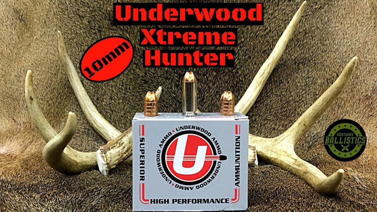 Underwood Xtreme Hunter 10mm