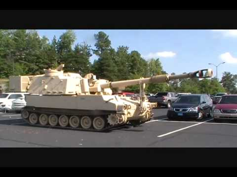 M109 Paladin 155mm Self Propelled Howitzer