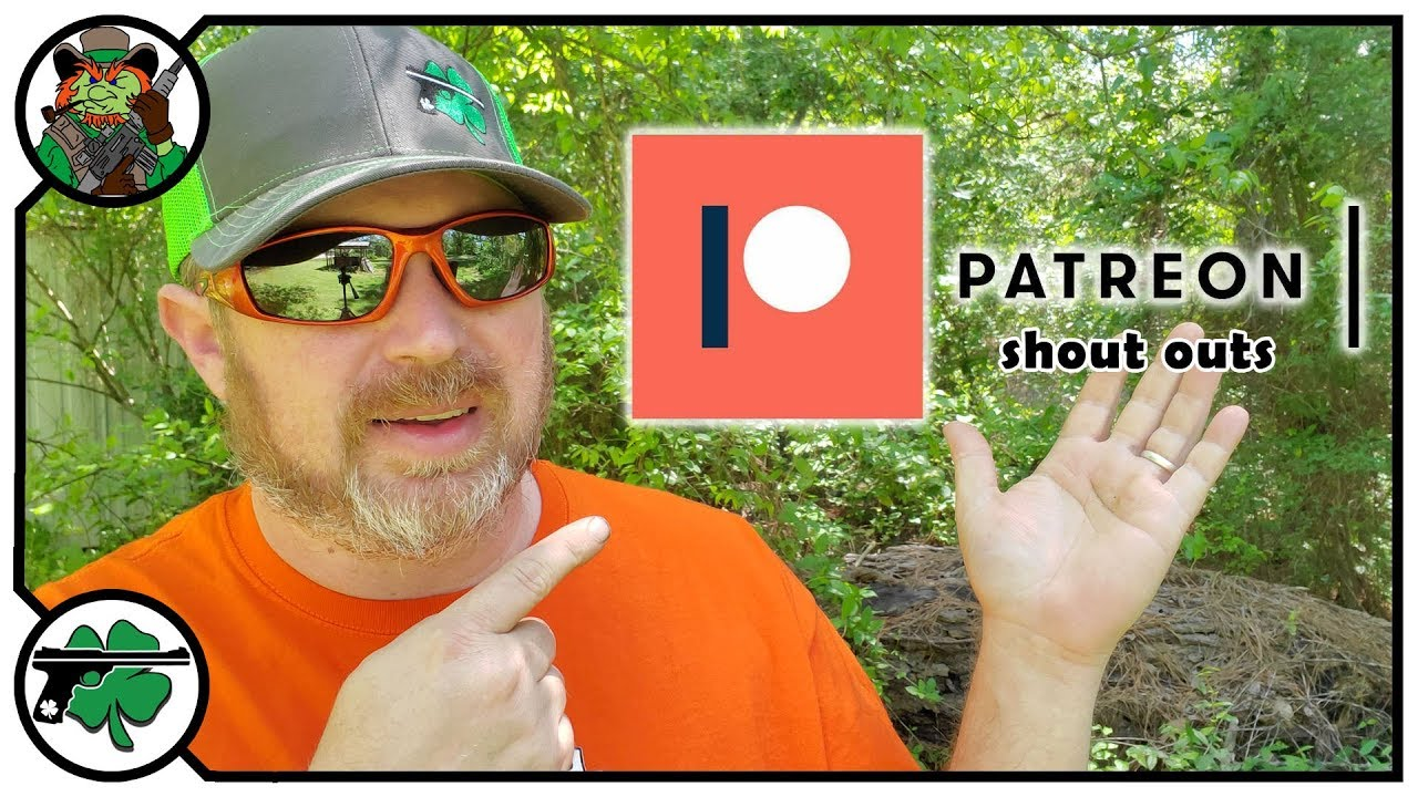 Patreon Shout Outs For April 2019