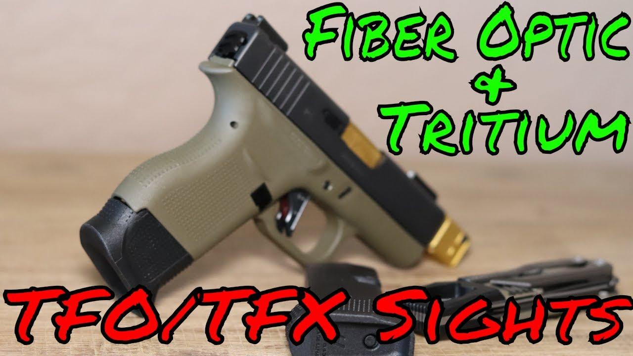 Truglo TFO/TFX  Tritium Fiber Optic Sights