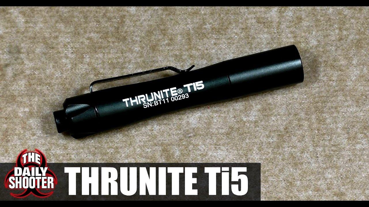 ThruNite Ti5 Review