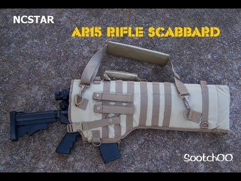AR15 / M4 Rifle Scabbard