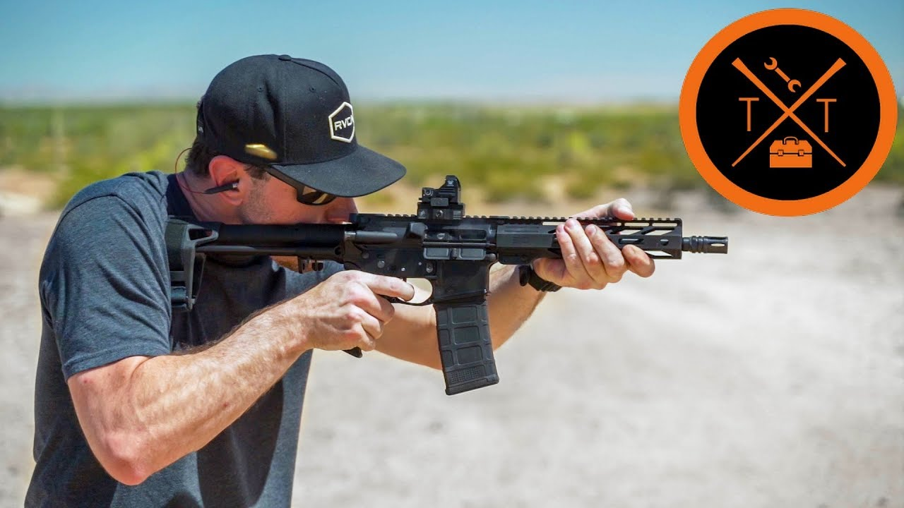This 9mm AR 15 Pistol is STOOPID CHEAP.....(w/LINKS)