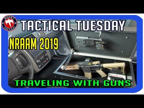 Traveling with Guns & NRAAM 2019:  Tactical Tuesday LIVE ep87
