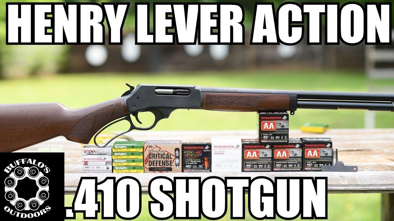 Henry .410 Lever Action Shotgun - America's 410