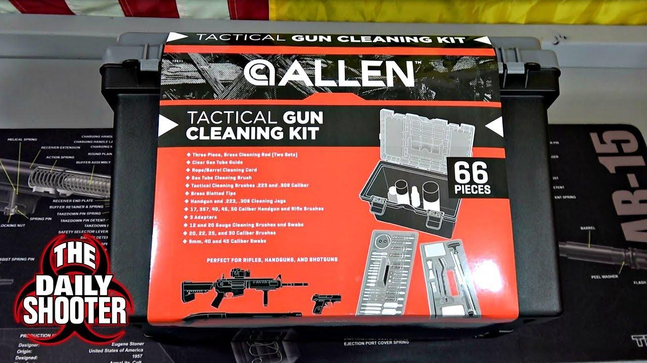 Allen Ultimate Tactical Gun Cleaning Kit