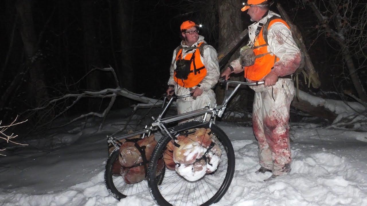 Rogue 36 Pack Wheel on a DIY Cow Elk Hunt