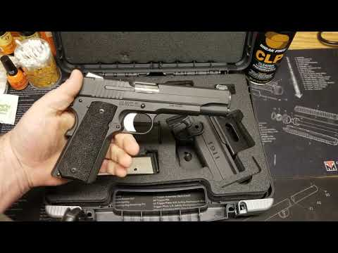 SIG 1911 TACOPS tabletop review