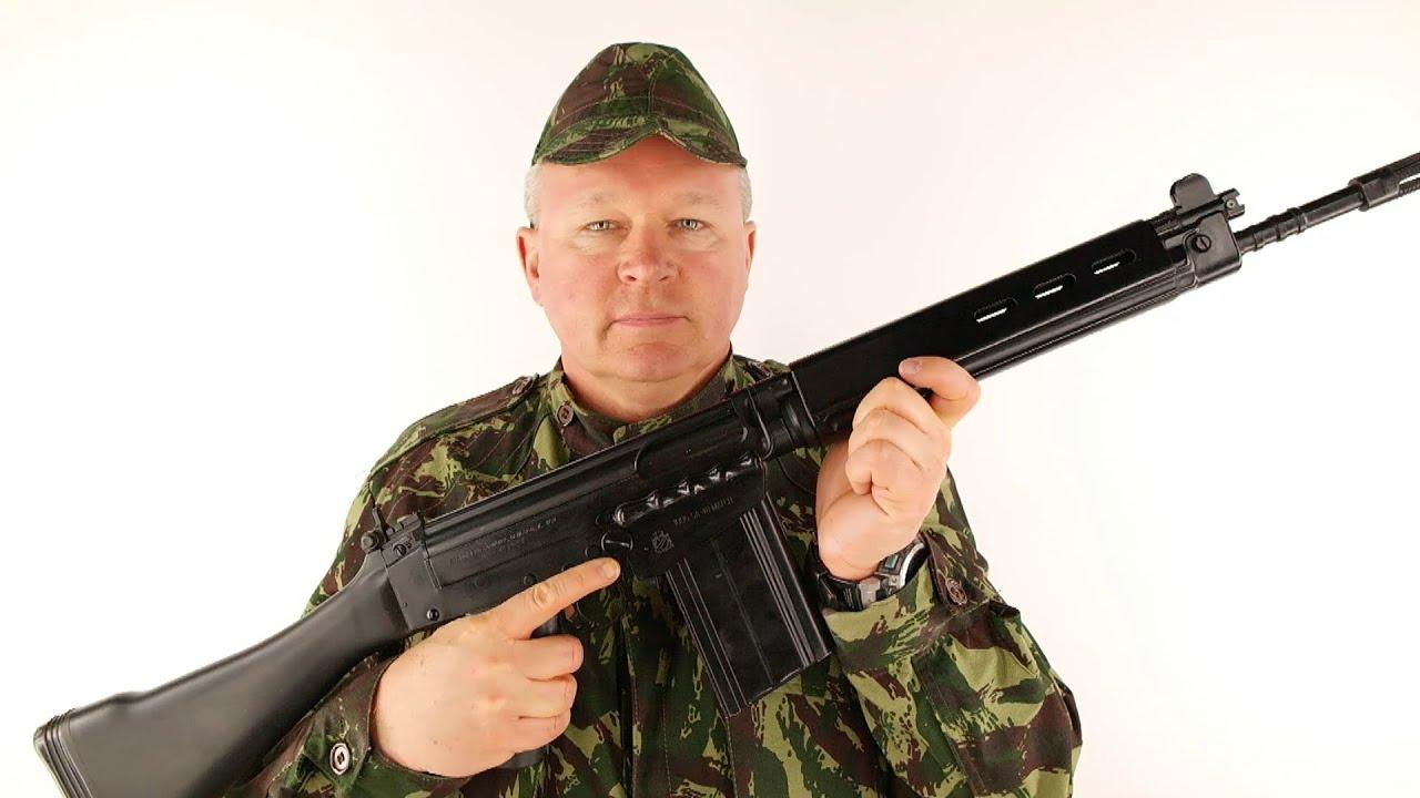 Man vs Gun FN FAL