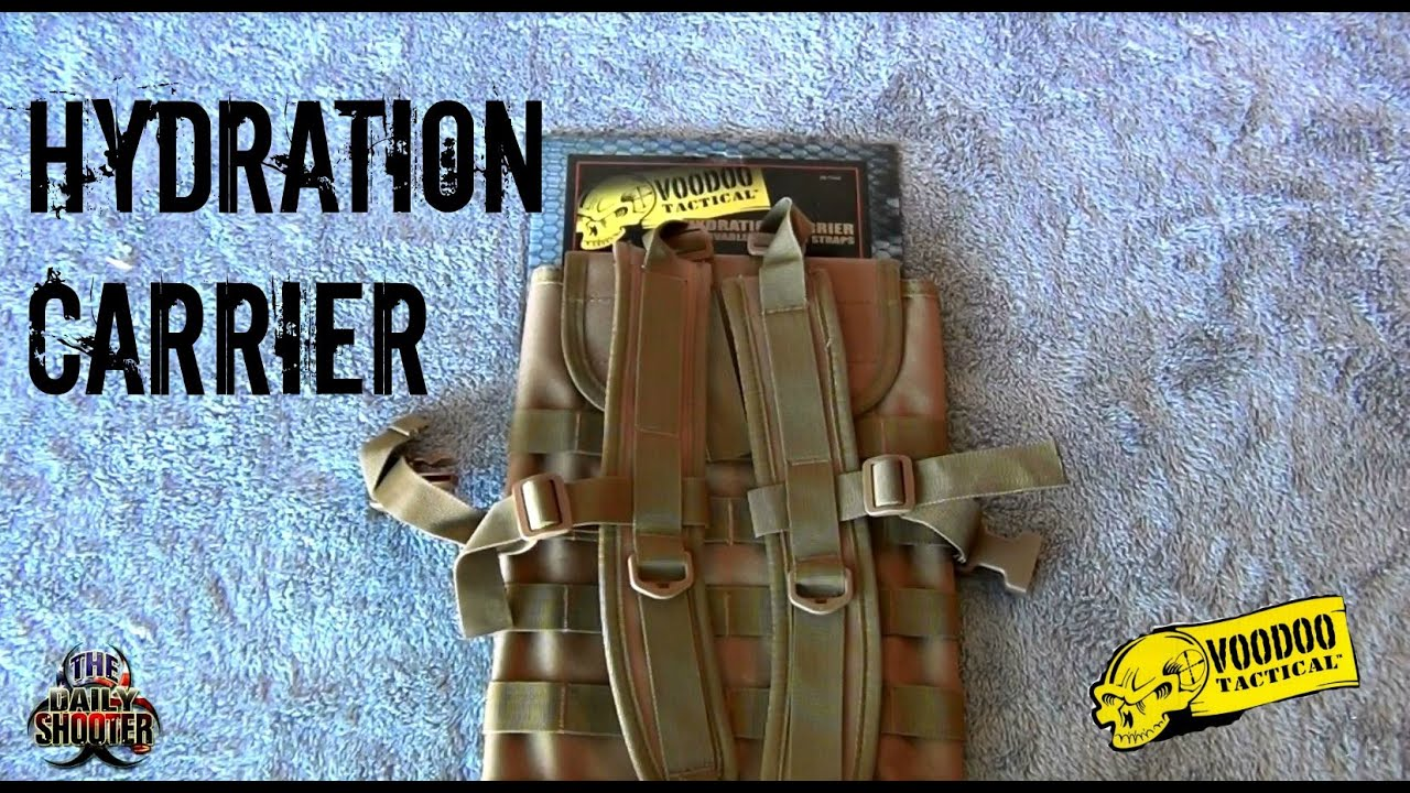 Voodoo Tactical Hydration Carrier Review