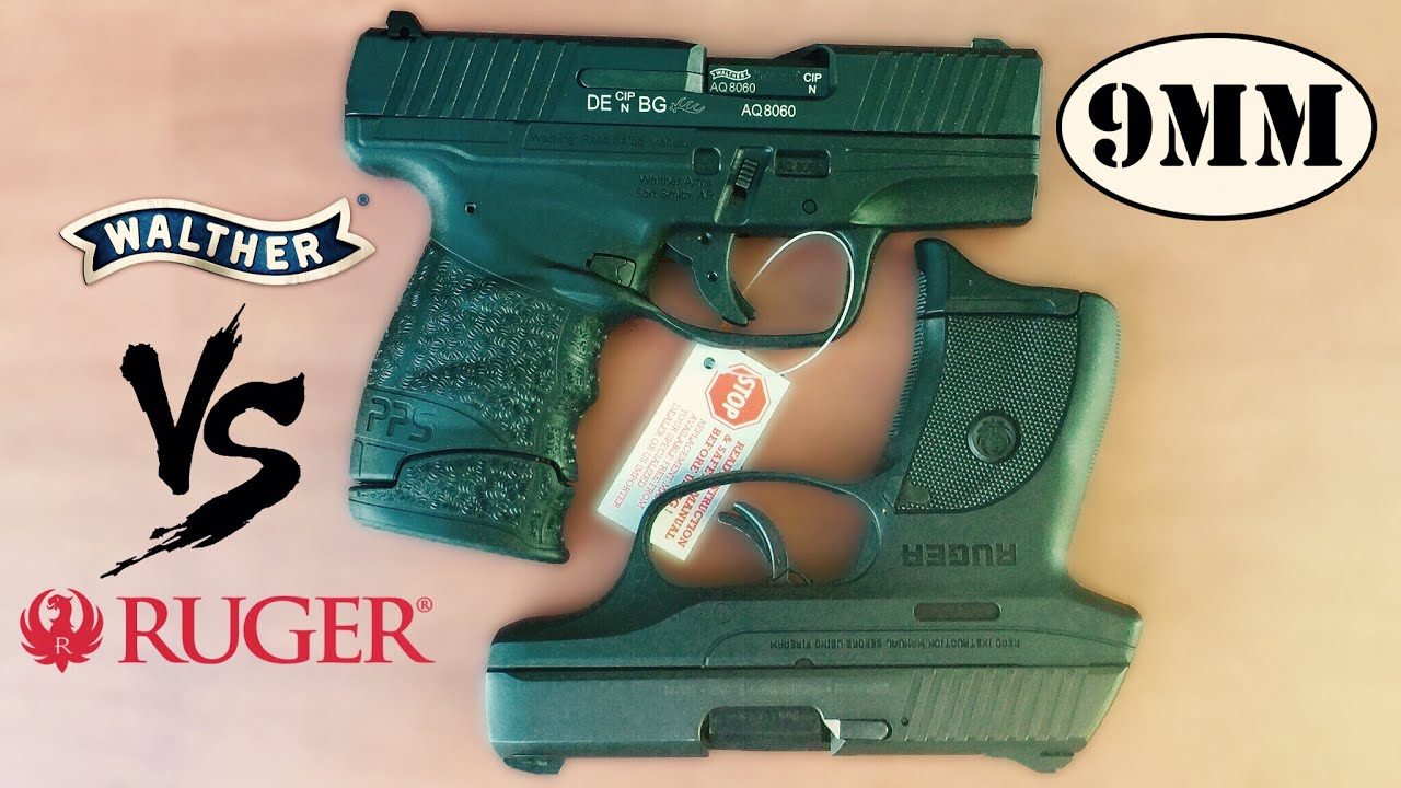 Walther PPS M2 VS Ruger LC9s PRO