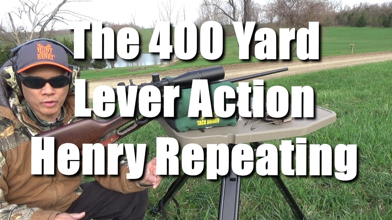 400 Yard Lever Action