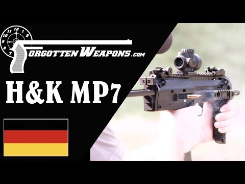 Shooting the H&K MP7