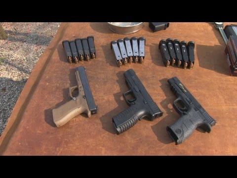 M&P Pro  vs Glock 34  vs  XDm  5. 25