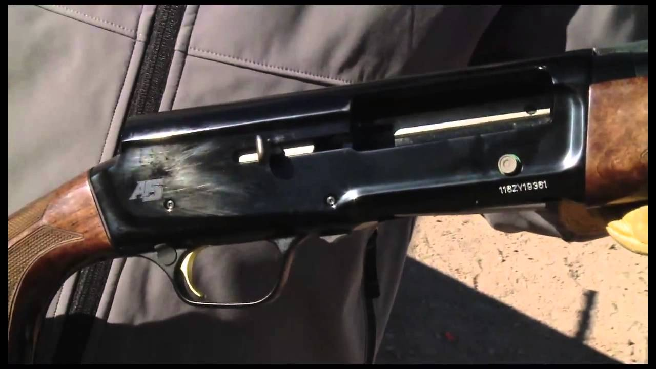 Browning A5 with 3 1/2