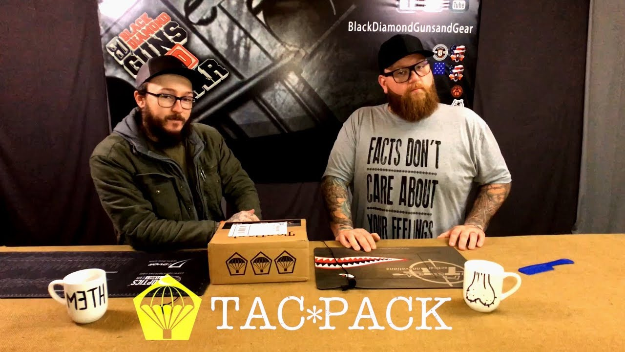 January TacPack Unboxing