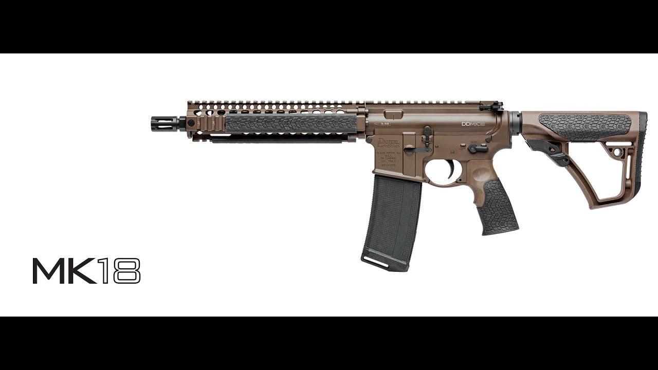 Daniel Defense Mk18 & Suppressor Shoot