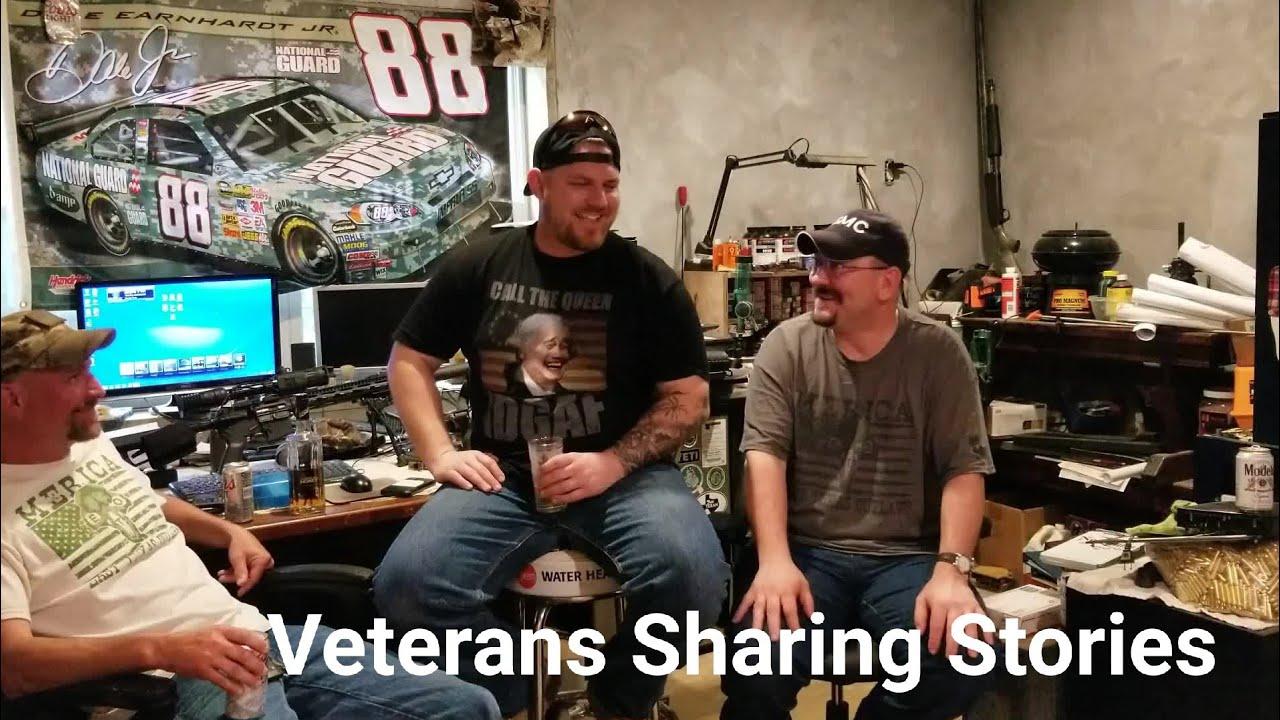 Veterans Sharing Stories.