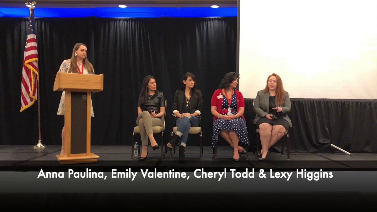 Gun Rights are Women's Rights Panel Discussion at the DFA Summit