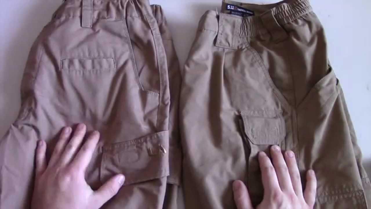 LAPG vs 5.11 Pants Comparison