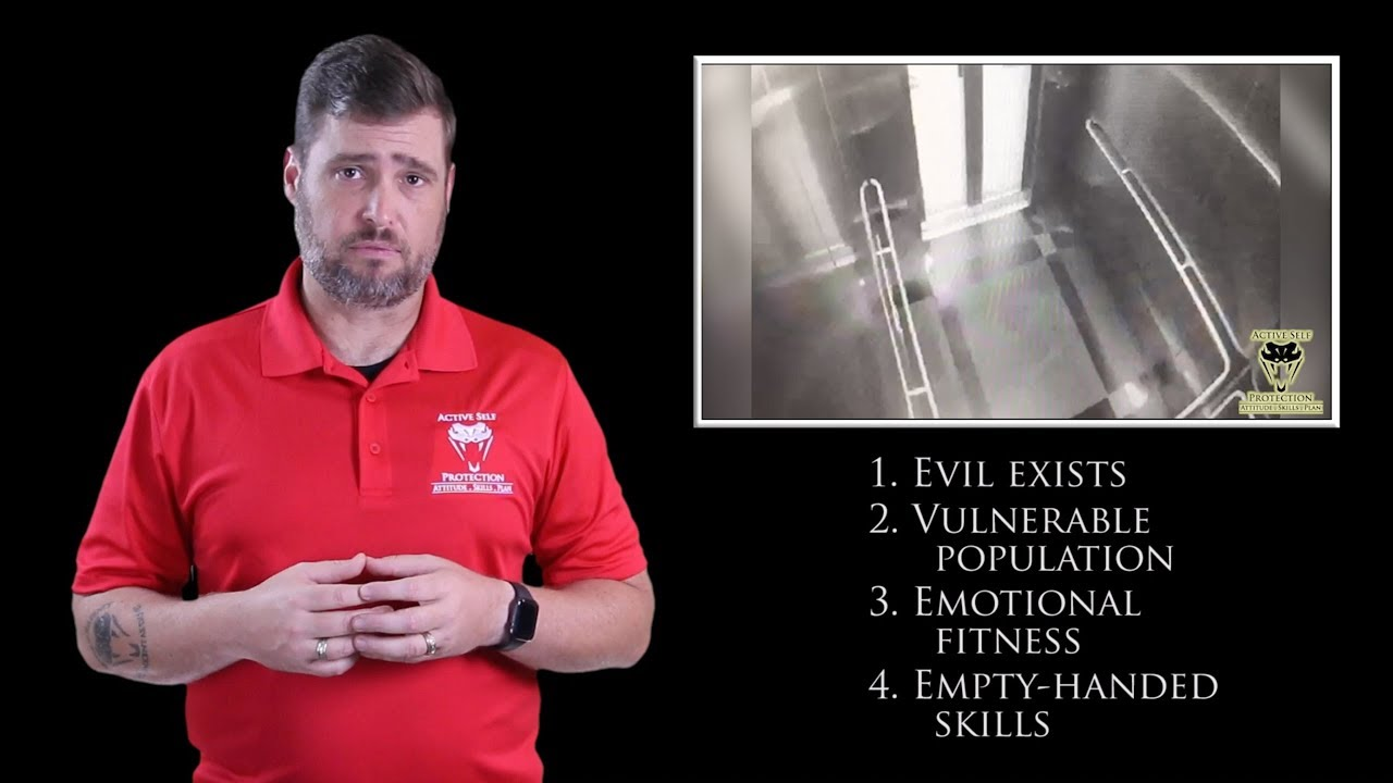 Elevator Evil Is Tough To Watch | Active Self Protection