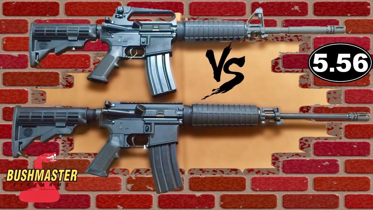 M4A2 vs AR15 Flat Top