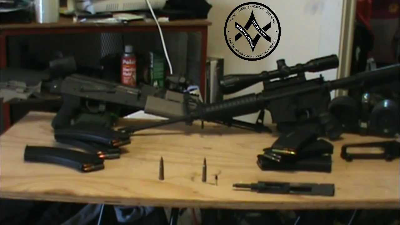 AK47 vs AR15 The Clasic Argument In Defense Survival Guns