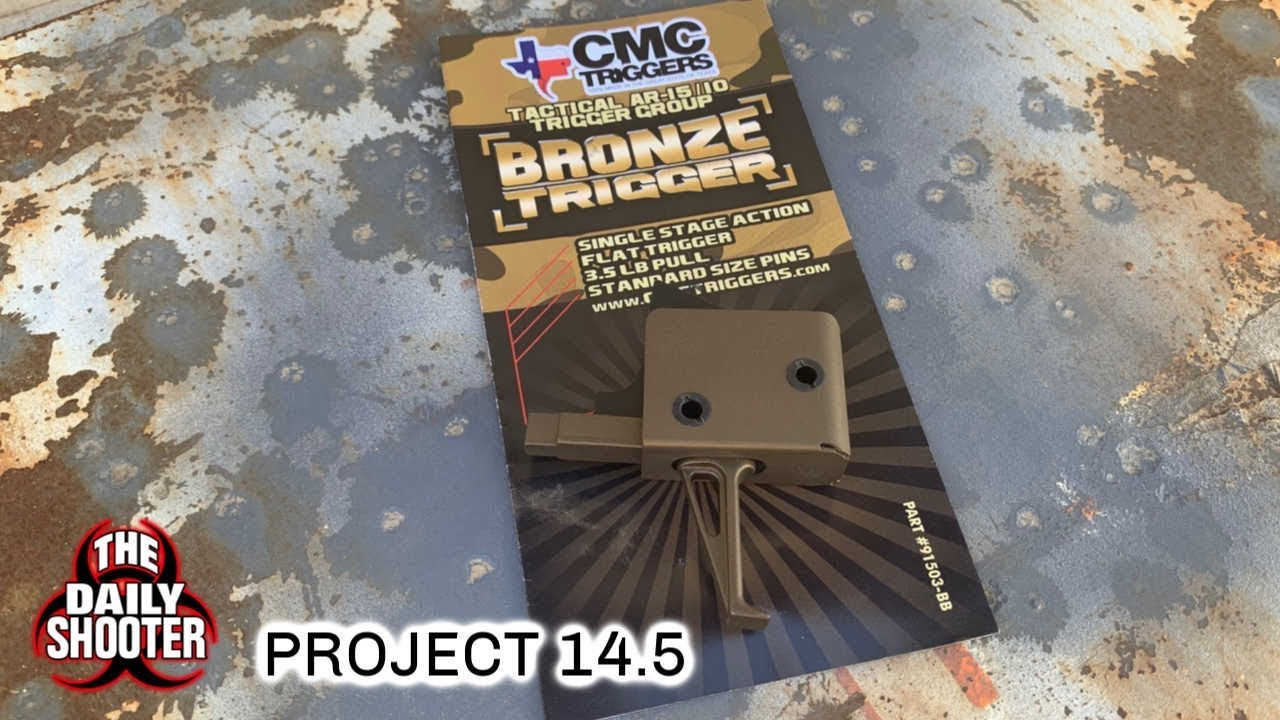 Project 14.5 pt 5 CMC Flat Face Trigger and Anti Roll Pins