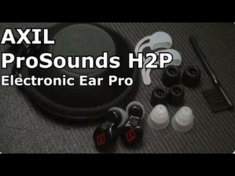 H2P Electronic Hearing Plugs by AxilPro