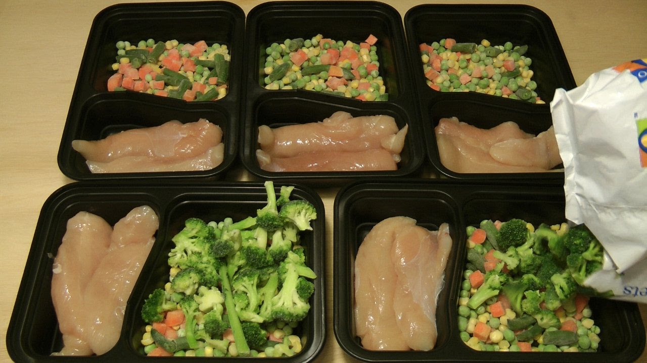 Meal Prep - 5 Meals In 5 Minutes, Under $5 Each, ALL Organic