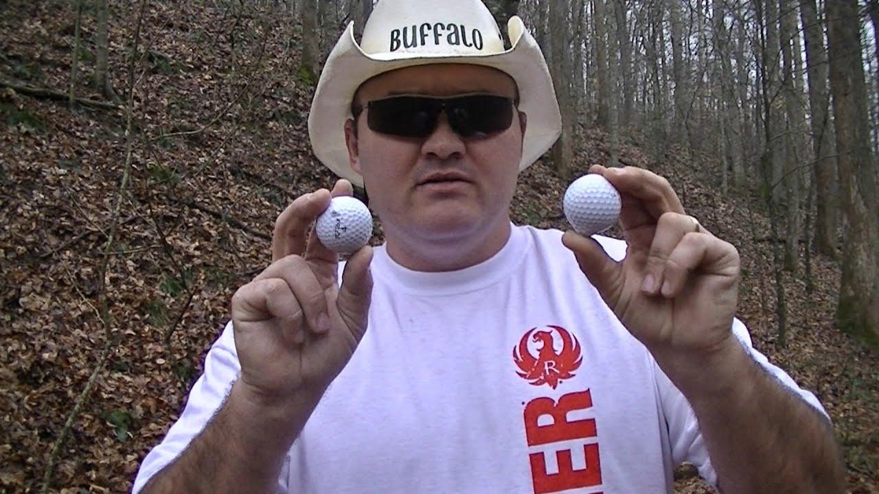 Double golf ball shot