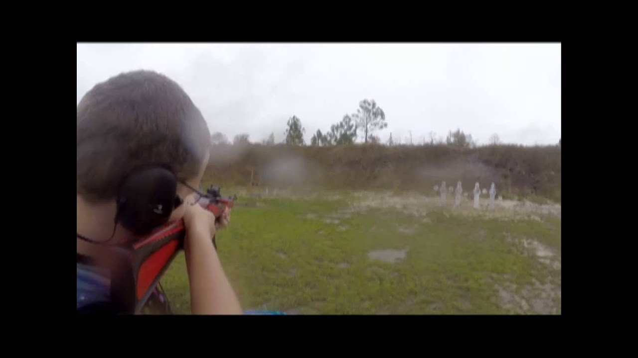 November 2015 BWE/Uzi HQ Subgun/PCC Match Nick shooting Ruger 10/22