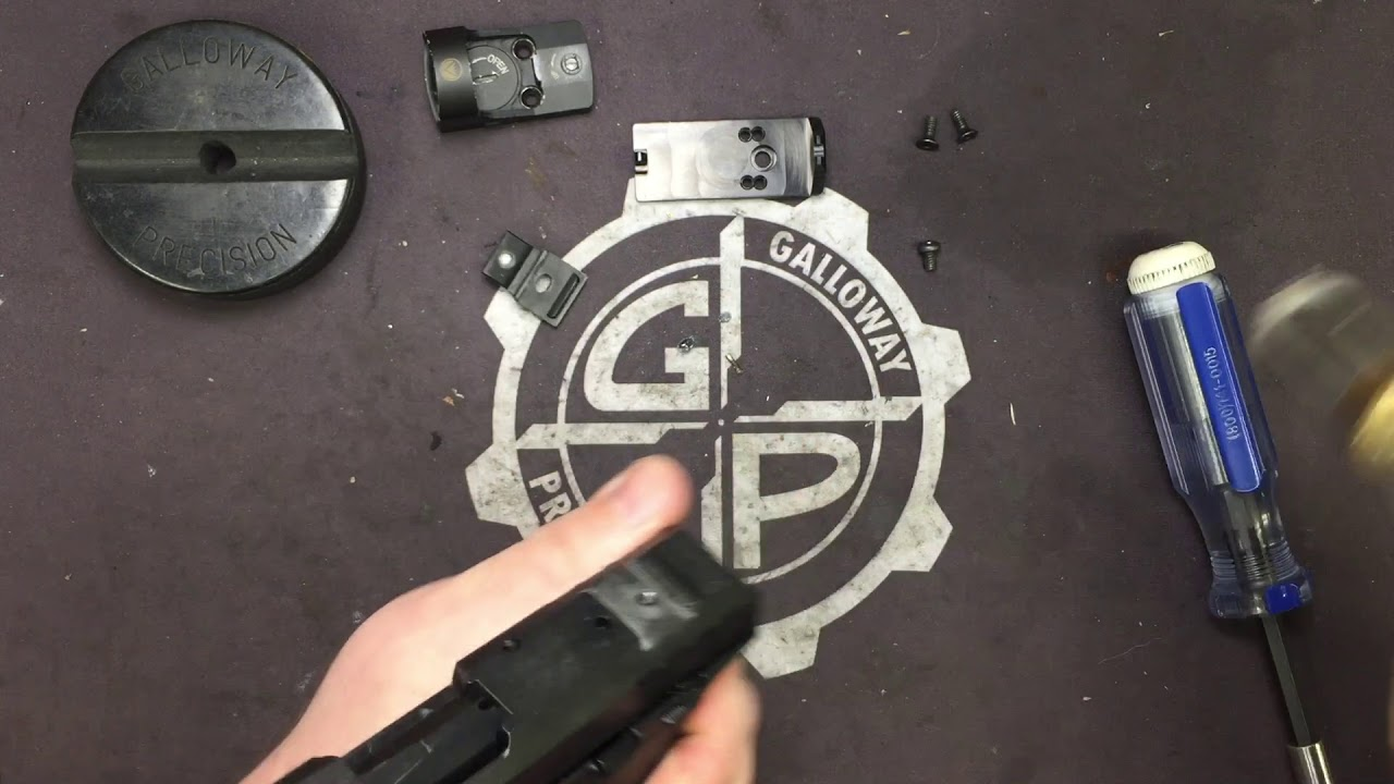 Security-9 Optic Mount Plate Installation