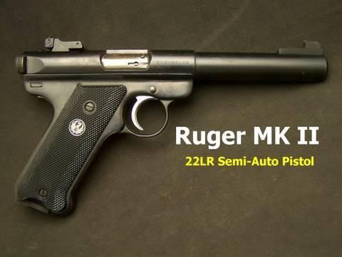 Ruger Mark  II Pistol Review