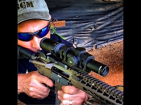 Trijicon AccuPower 1 4x24  Scope Review