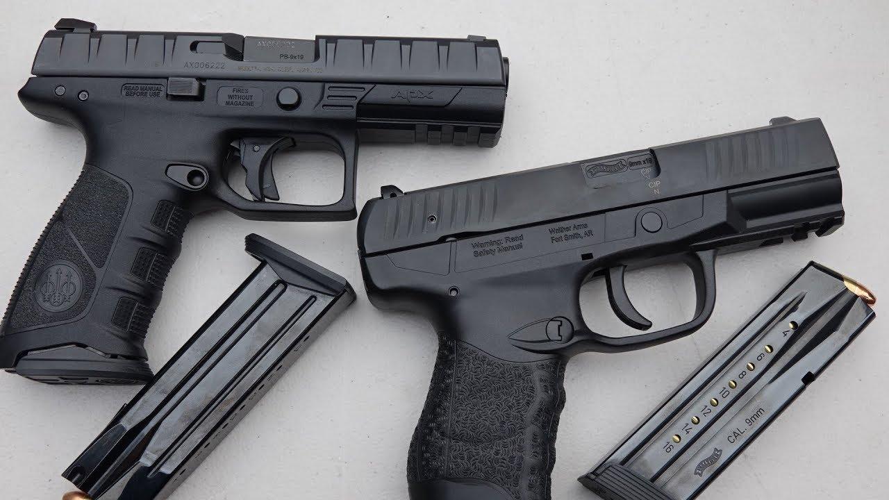 Beretta APX vs Walther CREED