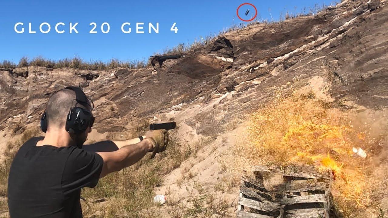 Glock 20 Gen 4: 1700 FPS vs Orange Soda