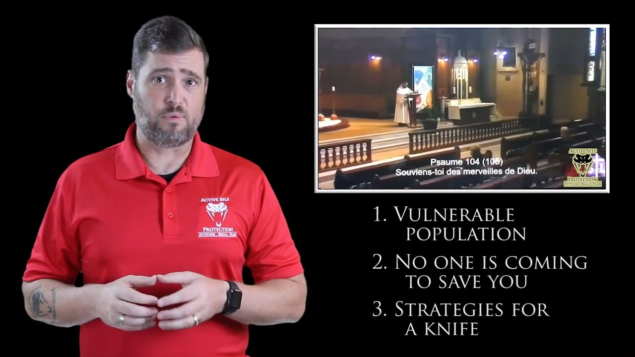 Priest Has To React Quickly At Mass | Active Self Protection